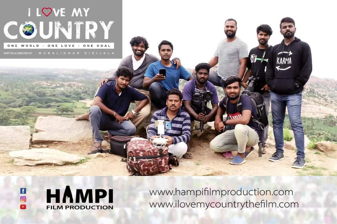 Muralidhar Gidijala, shared the story and concept of his Upcoming film 'I Love My Country'